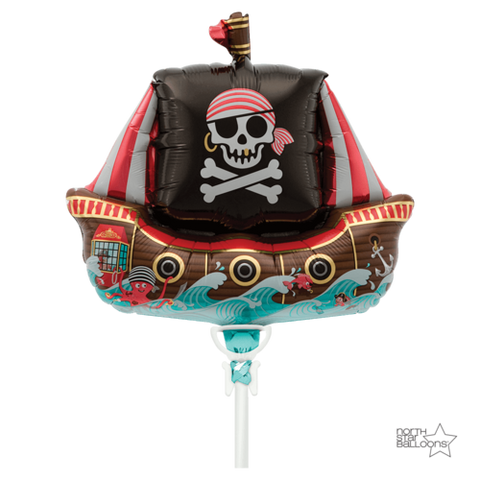 Jolly Pirate Ship 14""