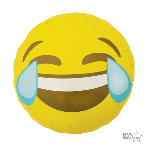 Emoji Crying Laughing 18""