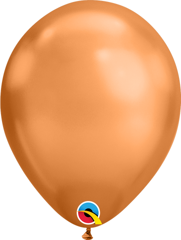 "Chrome balloons 11"" (100pz) Copper"