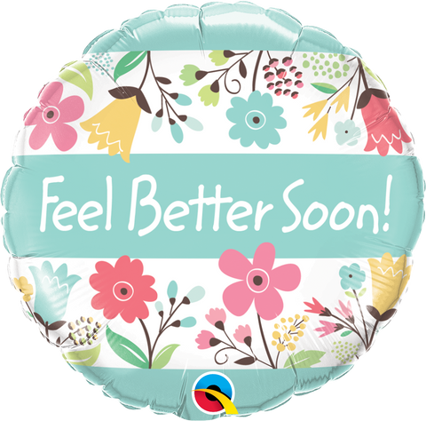 Feel Better Soon! Floral 18""