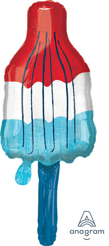 Red, White & Blue Popsicle 40""