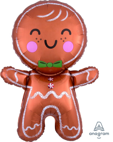 Happy Gingerbread Man 31""