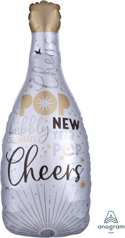 Satin Infused Celebrate the New Year Bubbly 36""