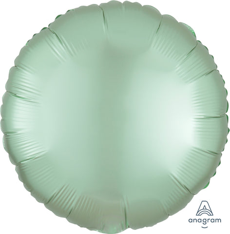 Satin Luxe Mint Green Redondo 18""