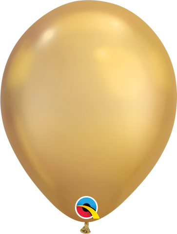 "Chrome balloons 11"" (100pz) Gold"