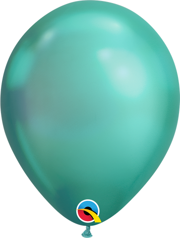 "Chrome balloons 11"" (100pz) Green"