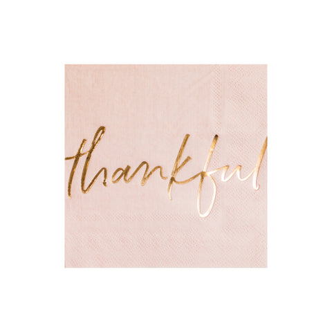 Thankful Cocktail Napkins
