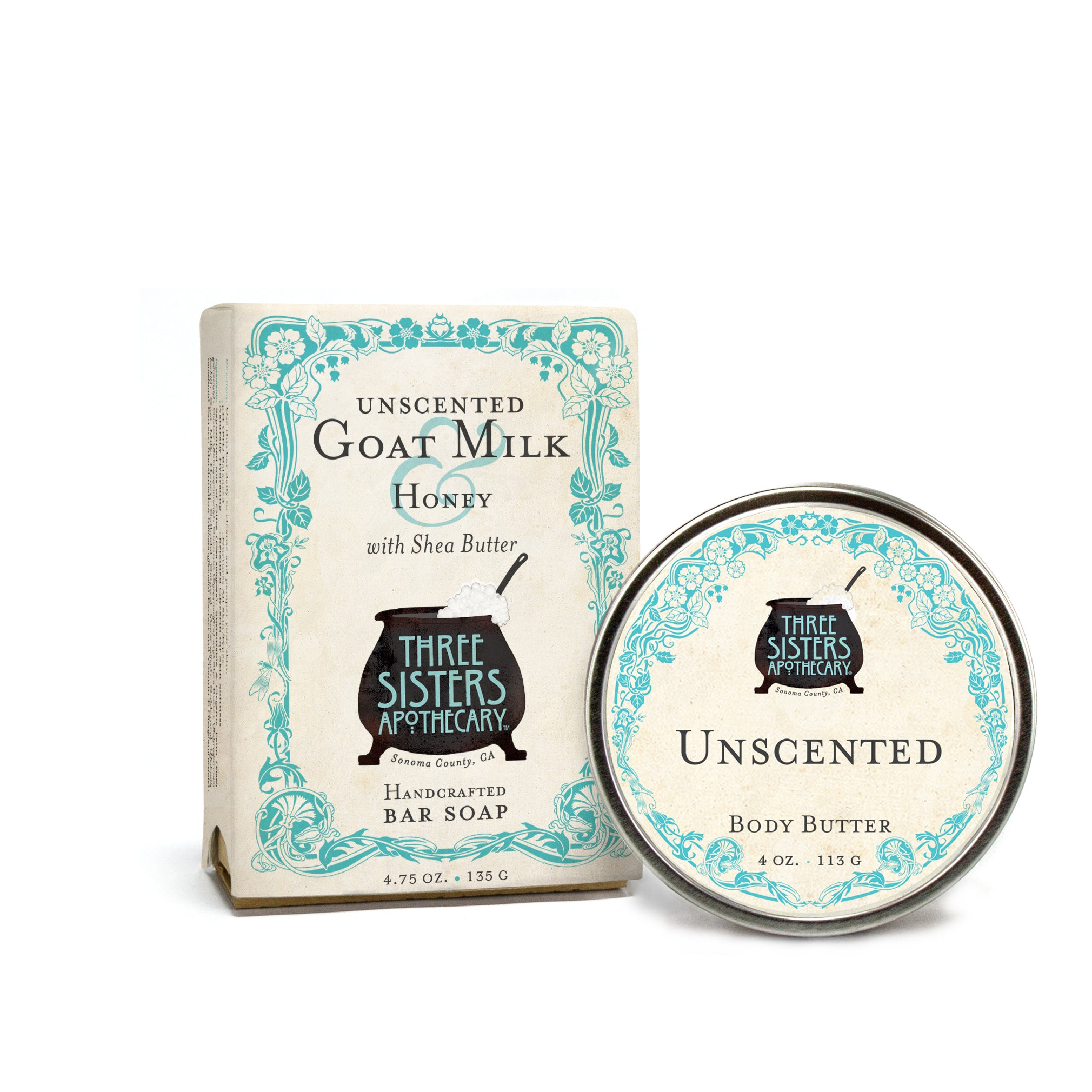 Unscented Goat Milk & Honey Bar Soap