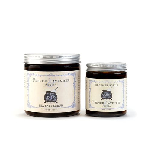 French Lavender Sea Salt Scrub