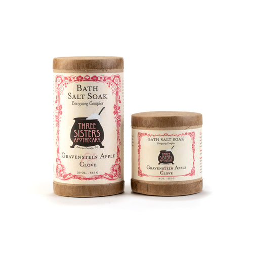Gravenstein Apple & Clove Bath Salt Soak
