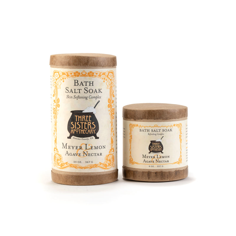 Meyer Lemon Bath Salt Soak