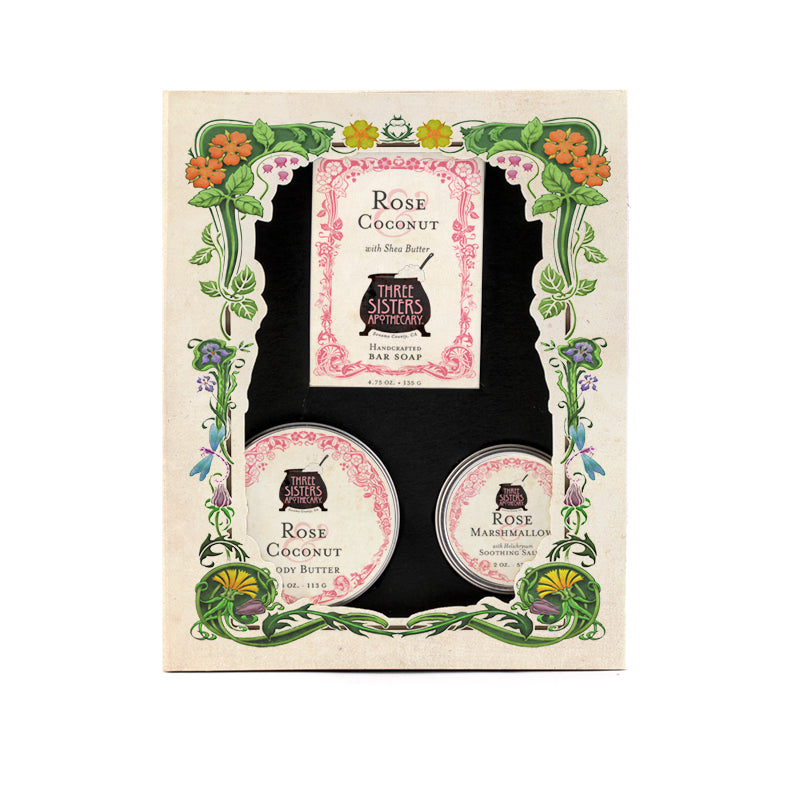 Three Sisters Bath & Body Gift Set Trio