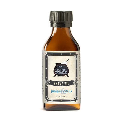 Juniper & Citrus Shave Oil - 3.2 oz.