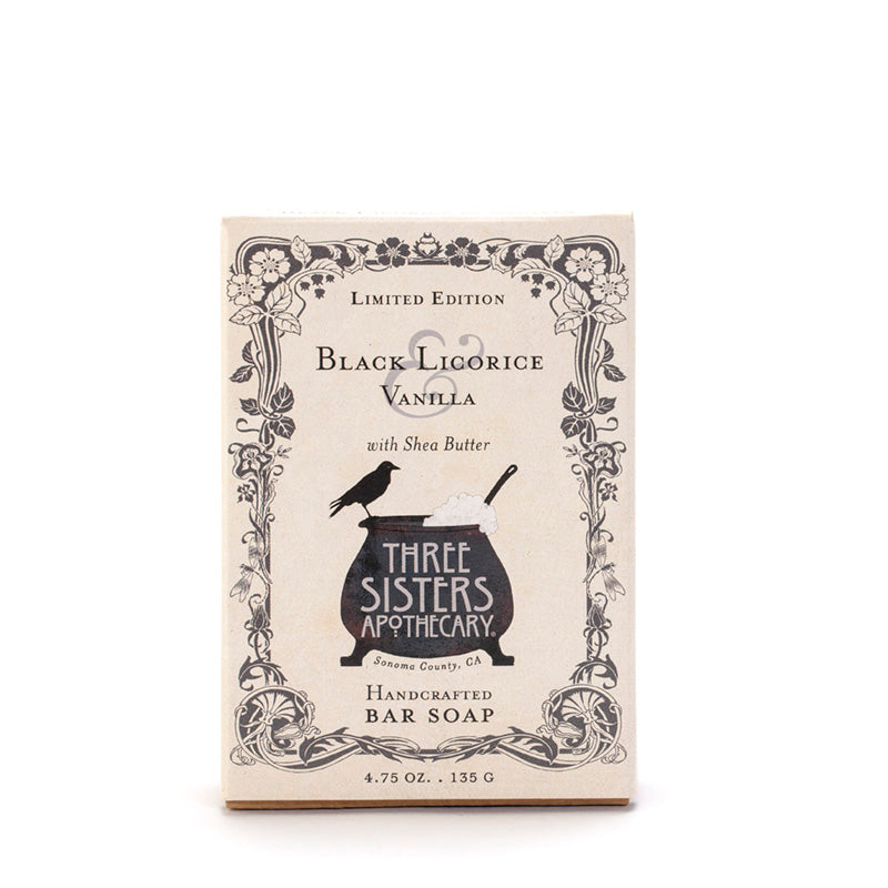 Black Licorice & Vanilla Bar Soap