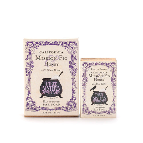 California Mission Fig & Honey Bar Soap