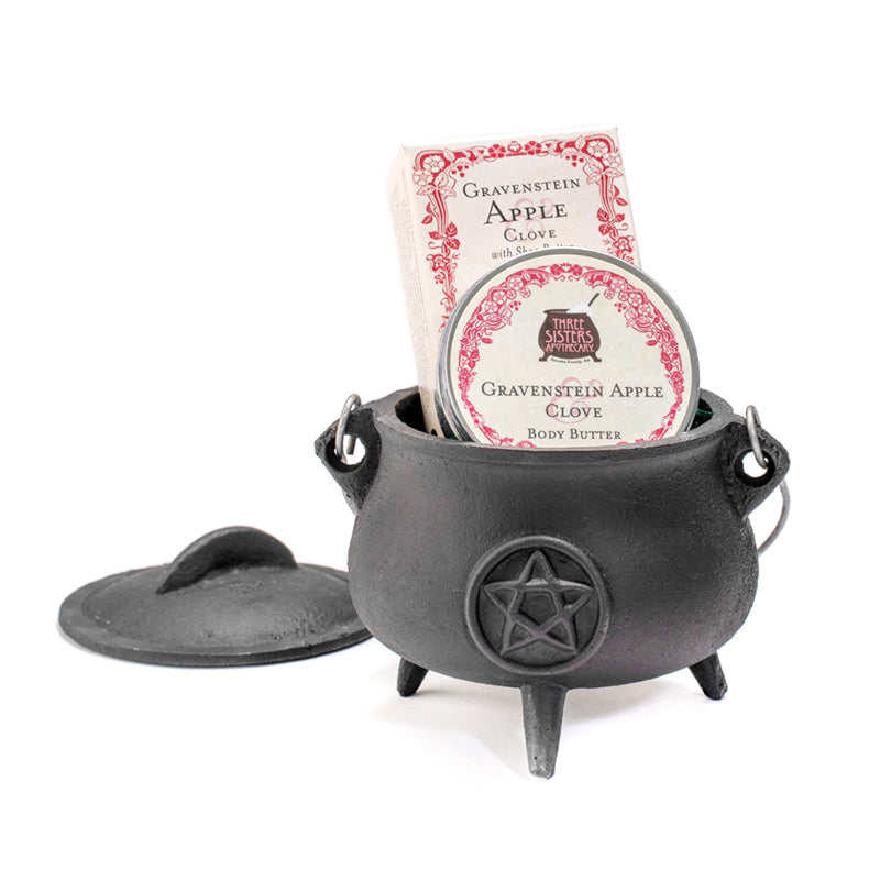 "Pot Bellied Gift Cauldron - 5 1/2"" Diameter"