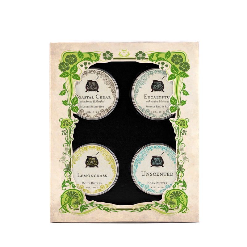 Three Sister's Body Butter Sampler Boxed Gift Set