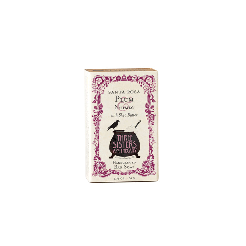 Santa Rosa Plum & Nutmeg Bar Soap