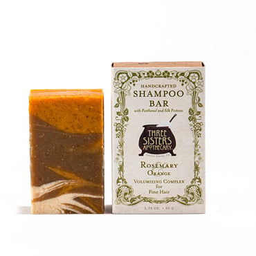Rosemary & Orange Clarifying Shampoo Bar - Fine Hair Complex
