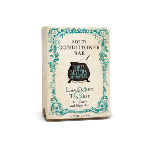 Lavender & Tea Tree Solid Conditioner Bar - Curly & Wavy Hair