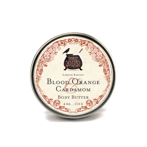 Blood Orange & Cardamom - 4 oz Body Butter