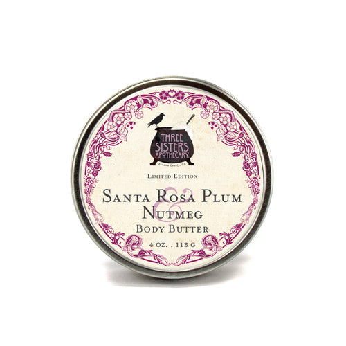 Santa Rosa Plum & Nutmeg - 4 oz Body Butter