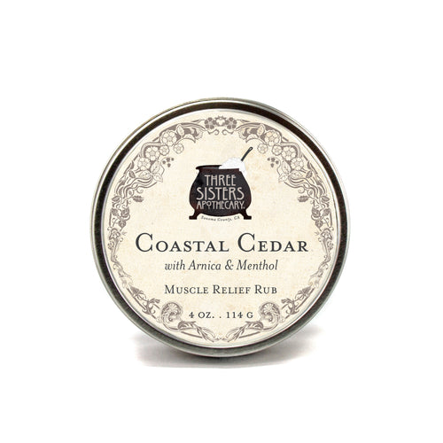 Coastal Cedar & Arnica Relief Rub - 4 oz.
