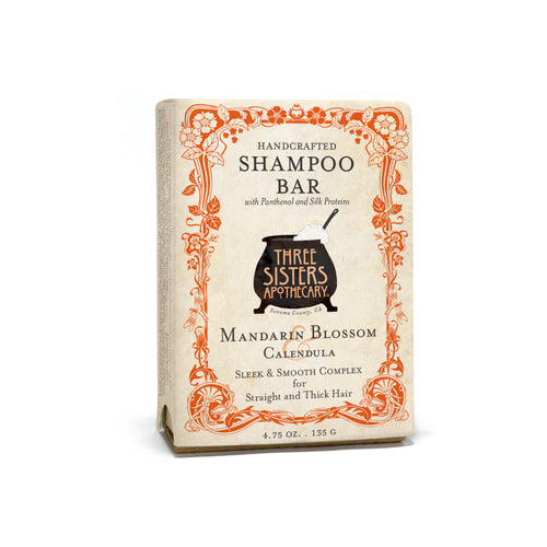 Mandarin Blossom & Shampoo Bar - Sleek & Smooth Complex