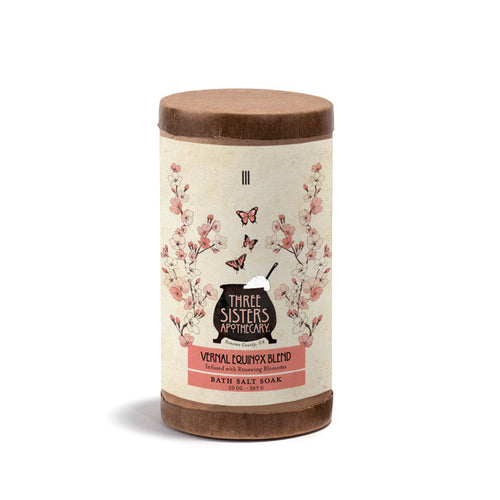 Vernal Equinox Bath Salt Soak -  20 oz.