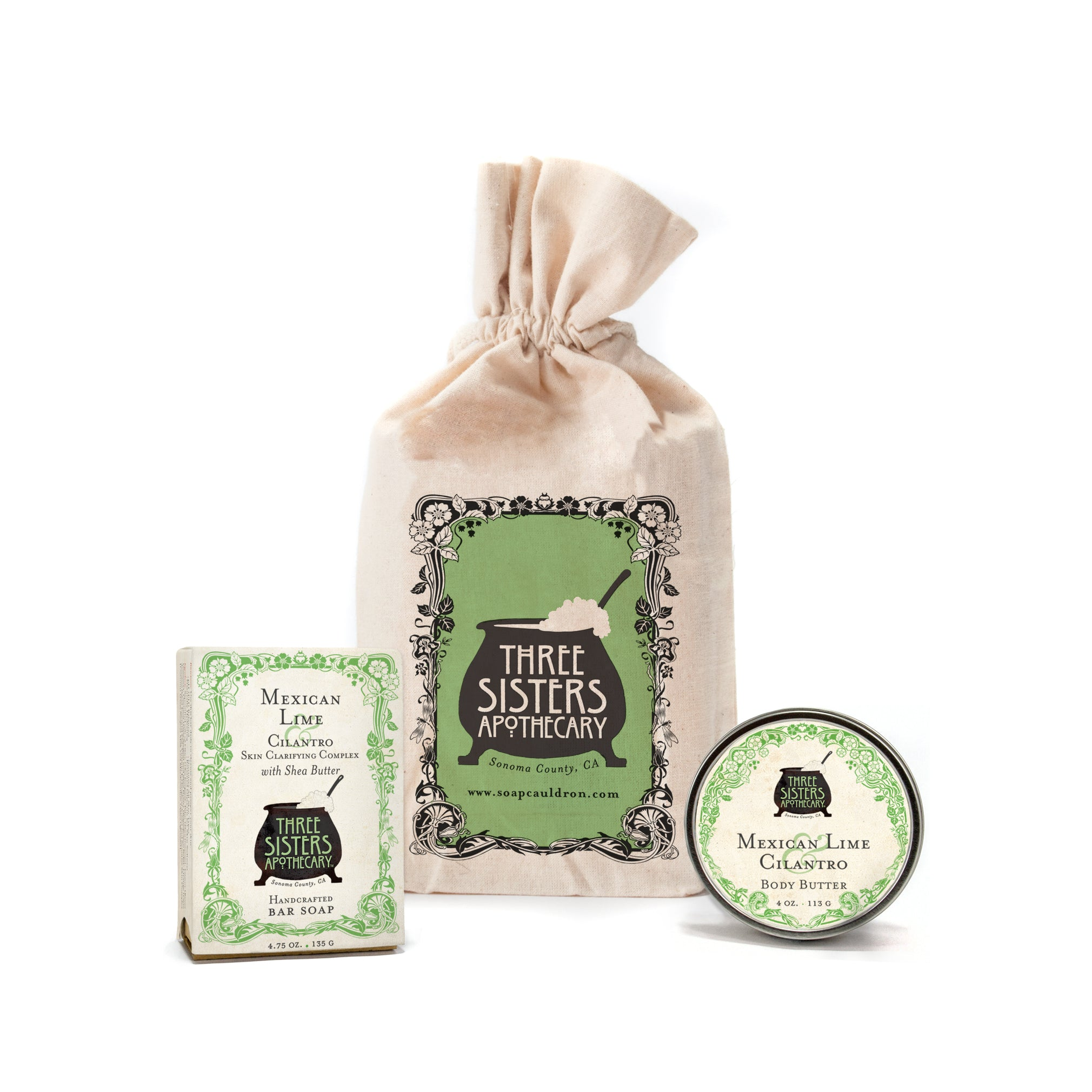 Bar Soap and Body Butter Gift Set