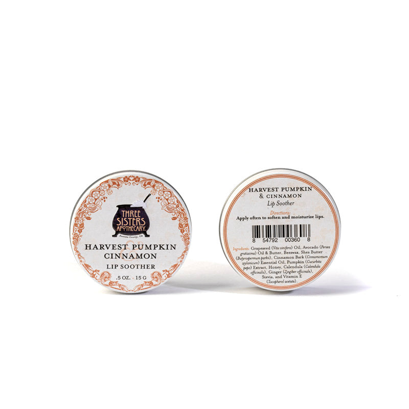Harvest Pumpkin & Cinnamon Lip Soother 0.5 oz