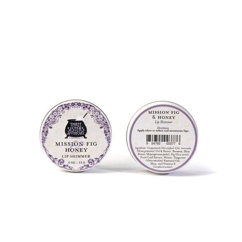 California Mission Fig & Honey Lip Shimmer 0.5 oz