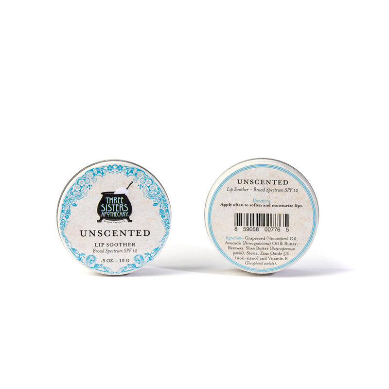 Unscented Lip Soother with SPF 0.5 oz