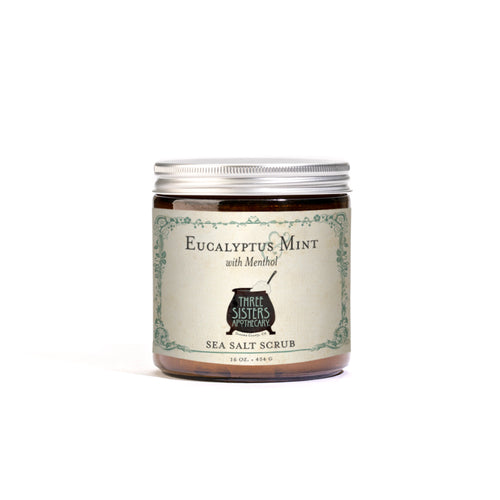 Eucalyptus & Mint Sea Salt Scrub