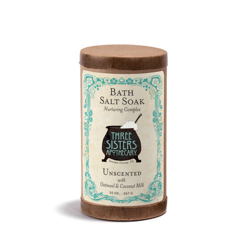 Unscented Oatmeal & Coconut Milk Bath Soak - 20 oz.