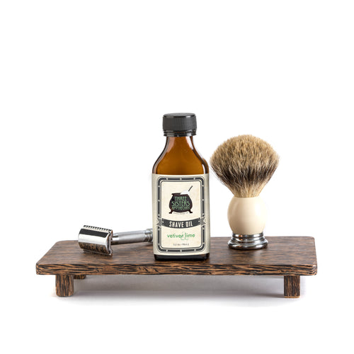 Vetiver & Lime Shave Oil - 3.2 oz.