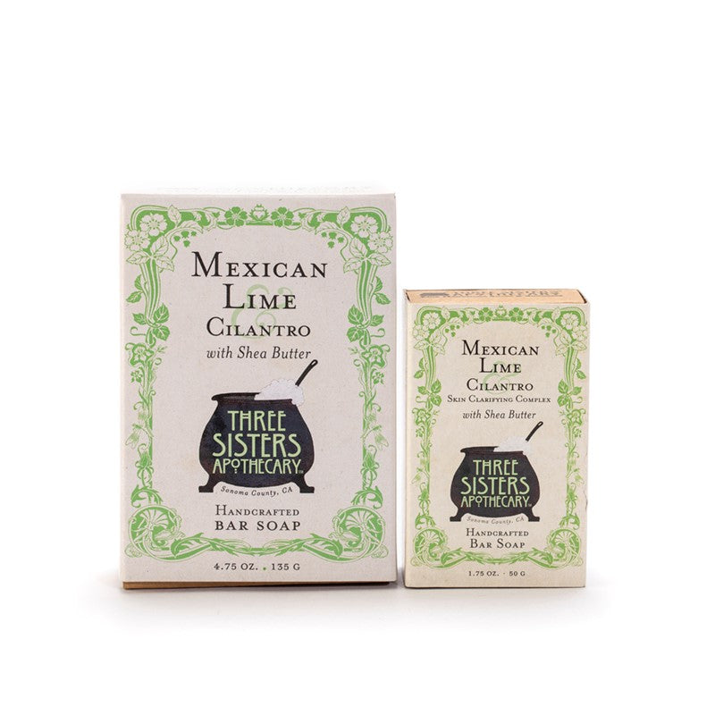 Mexican Lime & Cilantro - Clarifying Bar Soap