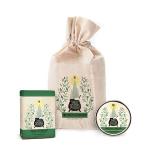 Winter Solstice Bar Soap and Body Butter Gift Set