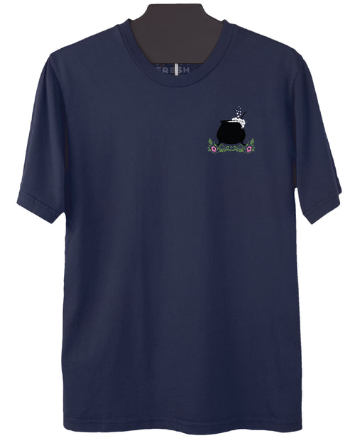 Soap Cauldron Men's T-Shirt - Navy