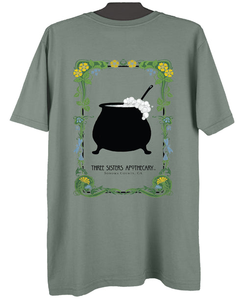 Soap Cauldron Men's T-Shirt - Pine