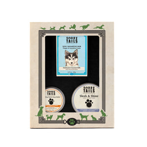 Soapy Tails Splash & Shine Gift Collection