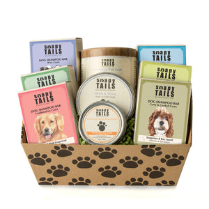 Soapy Tails Complete Canine Care Gift Set