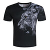 Image of Fashion Men/Women T-shirt 3d lion Print Designed