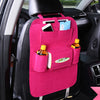 Image of Car Seat Bag Organizer,Woolen Felt Seat Back Protectors for Kids