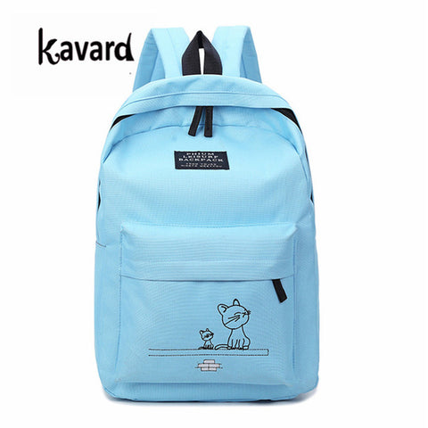 School Bag for girl 4pcs  bagpack Softback women