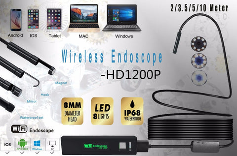 Lens for Some Android Phone Endoscope Waterproof Micro USB