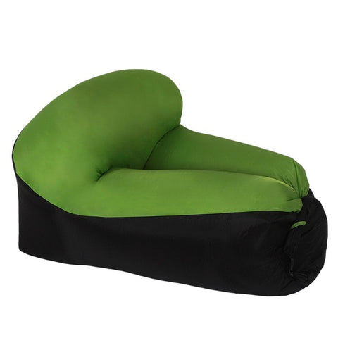 Outdoor Fast Inflatable Lazy bag Air Sleeping Rest Chair