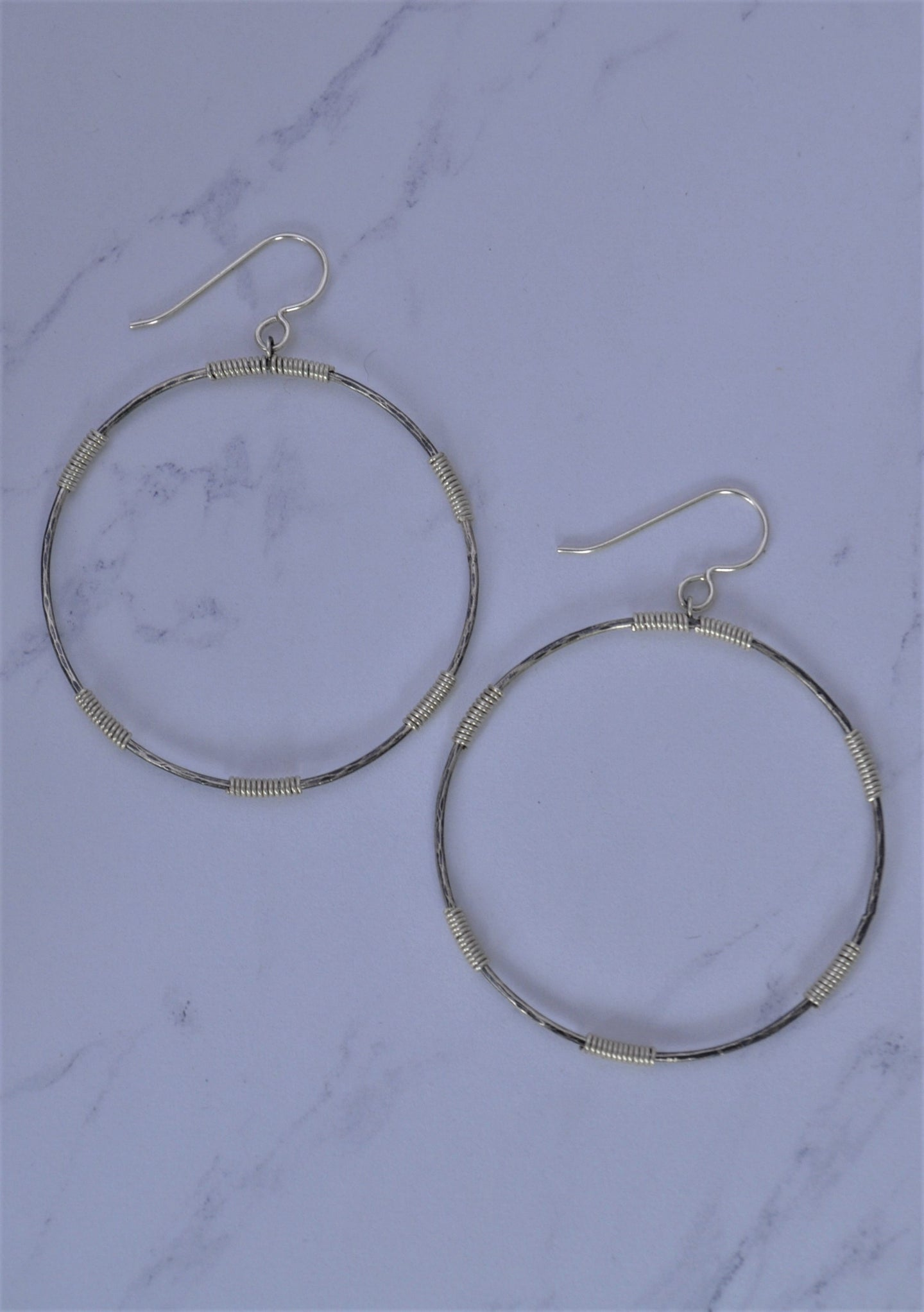 Wire Wrapped Hoops
