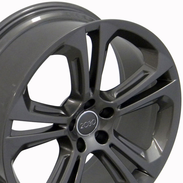 "20"" Fits Audi - Q5 Style Replica Wheel - Gunmetal 2x8.5 
