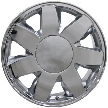 "17"" Cadillac DTS Replica Wheel - Chrome Textured 17x7.5 